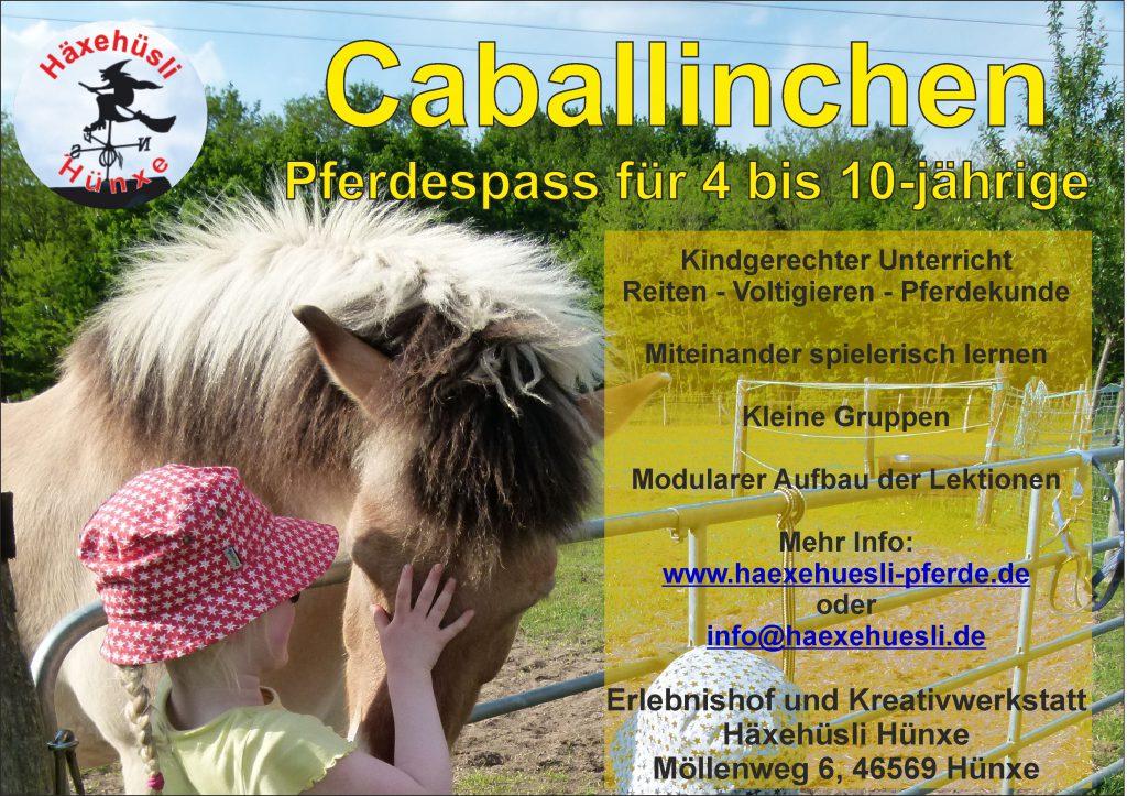 Caballinchen-Kurs @ Häxehüsli Hünxe