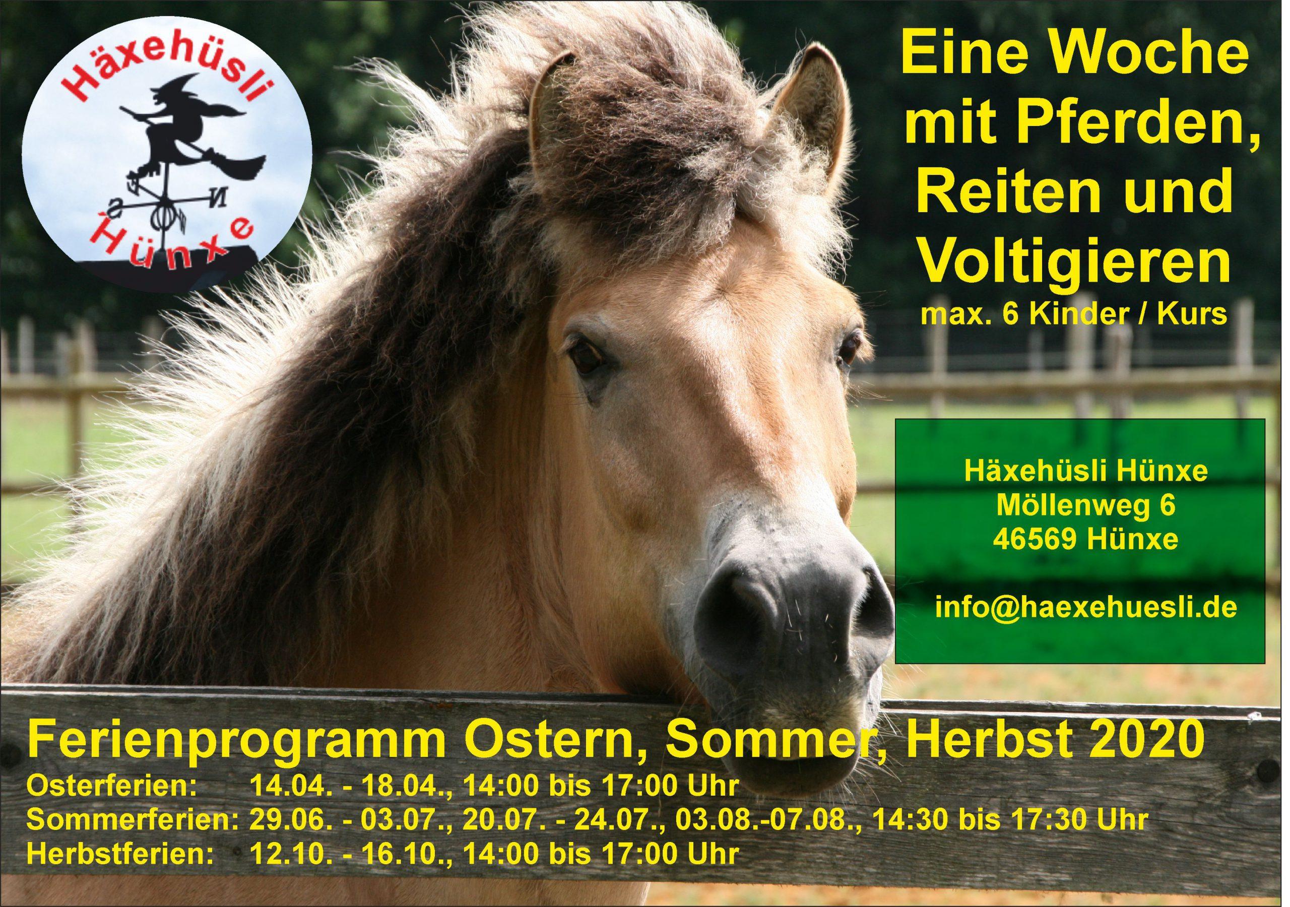 Herbstferienkurs mit Pferden @ Häxehüsli Hünxe
